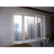 Окно ПВХ 1800*2400 пластиковое в кухню или спальню брежневской планировки фото