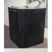 Контейнер металлический для бытового мусора фото