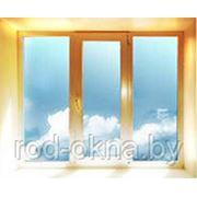 Окно (ПВХ) 700*1800 BrusBox 60-3 фото