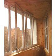 Балконная рама 1700*5800 фото