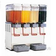 Охладитель напитков Ugolini. 4 бункера по 5 литров. фото