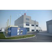 3D визуализация (Промышленные предприятия, энергоцентр) фото