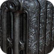 Услуга покраски радиатора - однотонная покраска в черный цвет фото