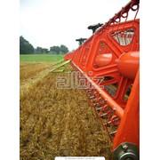 Комбайн сельскохозяйственный фото
