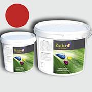 Резиновая краска для бетона Rezolux Universal /14 кг/ ярко-красная 3020 фото