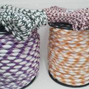 Шнур плетельный. фото