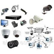 Телевизионная система видеонаблюдения фото