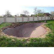 Изготовление бассейнов и прудов. фото
