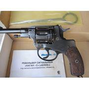 Револьвер сигнальный БЛЕФ наган звуковой образца 1895год фото