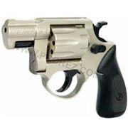 Револьвер флобера ME 38 Pocket 4R никель, пластик. рукоятка, 240189, 4 mm фото