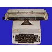 Печатная машинка на прокат фото