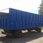 Новый кузов ЗЕРНОВОЗ под крепления контейнера фото