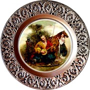 Сувенирная тарелка фото