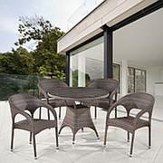 Комплект плетеной мебели T220CG/Y90CG-W1289 Pale 4Pcs фото
