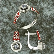 Серебренный набор Балауса фото