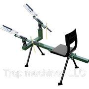 Метательная машинка для стрельбы по тарелочкам-мишеням фото