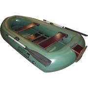 Лодка надувная гребная ЛГ270Т с навесным транцем фото