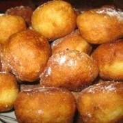 Пончики с повидлом фото