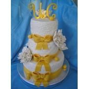 Свадебный торт на заказ Киев фото