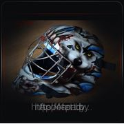 Аэрография на хоккейном шлеме фото