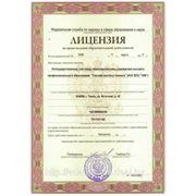 Получение лицензий и инных разрешений фото