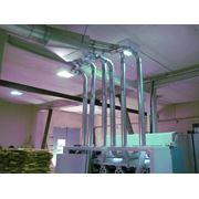 Пневмотранспорт для сыпучих материалов Пневмотранспорт для транспортировки сыпучих материалов. фото