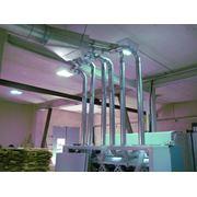 Расчет поставка и монтаж пневмотранспортного оборудования для выгрузки и подачи сыпучих материалов фото