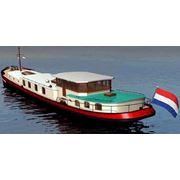 Баржа голландско-датского типа для постоянного проживания со всеми удобствами (Дом на воде) фото