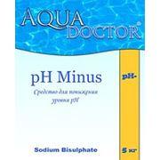 Реагенты для ухода за водой бассейна Средство для понижения уровня pH AquaDoctor pH Minus купить Украина фото