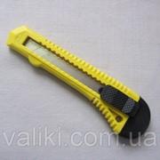 Нож канцелярский 18 мм 13-008 фото