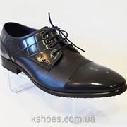 Черные мужские туфли Tapi 4246 фото