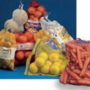 Тара из полипропилена для пищевых продуктов, Сетка полиэтиленовая экструдированная для упаковки овощей, фруктов и других пищевых продуктов. фото