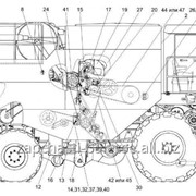 Запчасти для комбайна Палессе GS12 зерноуборочного самоходного КЗС-1218 фото