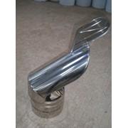 Флюгер из нержавеющей стали: диаметр (ф200) фото