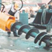Монтаж бурильного оборудования на шасси заказчика фото