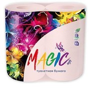 """Туалетная бумага """"Magic"""" в ассорт. (4шт/уп) фото"""