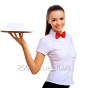 Требуется официантка фото