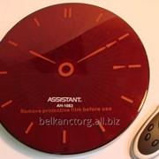 Часы настенные сетевые,Assistant АН-1083,круглые,208 мм,с пультом. фото