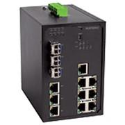Управляемый промышленный Ethernet-коммутатор NetXpert NXI-3030P фото