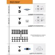 Заклепки пластиковые - RA 14-3.5 / RA 14-5 / RM 12-5 фото