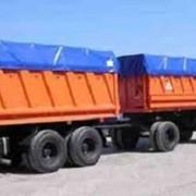 Кузовной тент, накидка на грузовик, тент на прицеп. фото