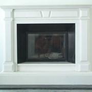 Мраморный каминный портал фото