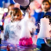 Научное шоу профессора ФРОСТА, детский научный праздник в Минске, день рождения в научном стиле, химическое шоу Минск! фото