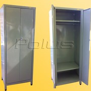 Шкафы гардеробные металлические фото