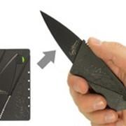 Нож - кредитка фото