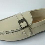 Туфли подростковые беж (размер 33-38) фото