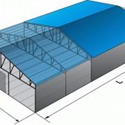 Мобильные здания ангары фото