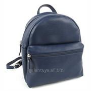 Рюкзак молодежный из натуральной кожи, модель 13916 фото