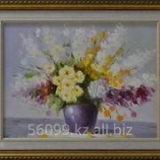 """Картина """"Весенние цветы"""" 51х61 фото"""