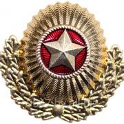 Фурнитура военная Кокарда МО РБ с обрамлением фото